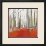 Italian Trees I Schilderij van Charlotte Evans