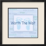 Words to Live By, Worth the Wait Affiches par Marilu Windvand