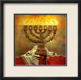 Menorah Prints by Deborah Kotovsky