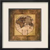 Global Map I Prints by Krissi 
