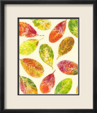 Vibrant Leaves I Posters by Luisa Tosini