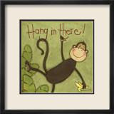 Hang in There Poster von Anne Tavoletti