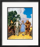 The Wizard of Oz: Glitter Yellow Brick Road Affiche