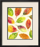Vibrant Leaves II Posters by Luisa Tosini