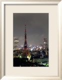 Tokyo Tower: Candlelight Event of One Million People Day I Prints by Takashi Kirita
