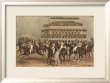 The Grand Steeple Chase I Posters by Francis Calcraft Turner
