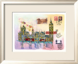 Londres Mon Amour Prints by Martine Rupert