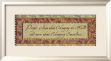 Words to Live By: Prayer Prints by Smith-Haynes 
