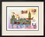 Londres Mon Amour Print by Martine Rupert