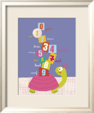 Numbers on a Turtle Poster by Isabelle Jacque