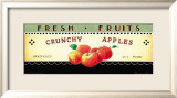 Fresh Fruits: Crunchy Apples Poster von Ria van de Velden