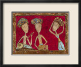 Danse Indienne Prints by Mary Larsson