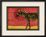 Woodblock Zebra Prints by Benjamin Bay