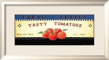 Fresh Fruits: Tasty Tomatoes Kunst von Ria van de Velden