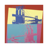 Brooklyn Bridge, c.1983 Giclee Print by Andy Warhol