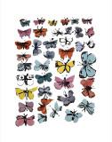 Andy Warhol - Butterflies, c.1955 Digitálně vytištěná reprodukce