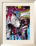Zebrafitti Customized Poster by Ben Allen