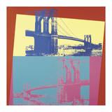 Andy Warhol - Brooklyn Bridge, c.1983 Digitálně vytištěná reprodukce