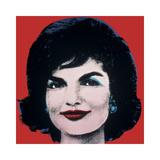 Andy Warhol - Jackie, c.1964 (On Red) Digitálně vytištěná reprodukce