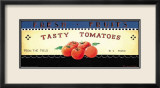 Fresh Fruits: Tasty Tomatoes Poster von Ria van de Velden