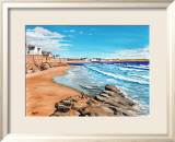 Rocks and Waves, Elie Prints by Elise Ferguson