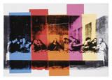 Andy Warhol - Detail zPoslední večeře (Detail of the Last Supper, cca1986) Digitálně vytištěná reprodukce