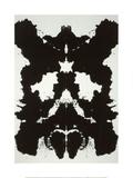 Rorschach, c.1984 Giclée-tryk af Andy Warhol