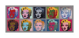 Ten Marilyns, c.1967 Giclee Print by Andy Warhol