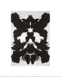 Rorschach, c.1984 Reproduction proc&#233;d&#233; gicl&#233;e par Andy Warhol