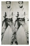 Double Elvis, vers 1963 Impression giclée par Andy Warhol