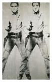 Dobbelt Elvis, ca. 1963 Giclée-tryk af Andy Warhol