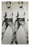 Elvis duplo, cerca de 1963 Impressão giclée por Andy Warhol