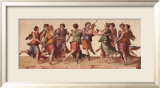 Dance of the Muses Prints by Julius Romanus