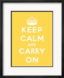 Keep Calm and Carry On Pósters