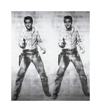 Andy Warhol - Elvis, c.1963 (double Elvis) - Giclee Baskı