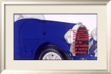 Bugatti Roadster Grill Framed Giclee Print