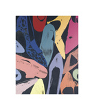 Diamond Dust Shoes, c.1980 (Lilac, Blue, Green) Reproduction procédé giclée par Andy Warhol