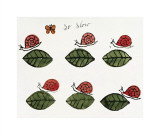 So Slow, c.1958 Giclee Print by Andy Warhol