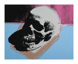 Skull, c.1976 (White on Blue and Pink) Impression giclée par Andy Warhol