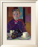 Portrait of Mrs. Mounter Poster by Harold Gilman