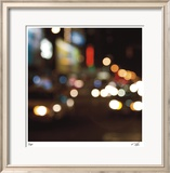 Espresso Lights I Limited Edition Framed Print by Eva Mueller
