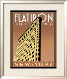 Flatiron Building Posters af Brian James