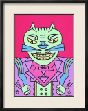 Time Cat Prints by Karl Wirsum