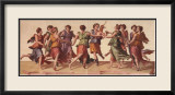 Dance of the Muses Print by Julius Romanus