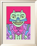 Time Cat Posters by Karl Wirsum