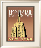 Empire State Building Poster by Brian James
