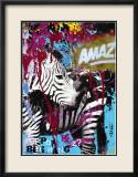 Zebrafitti Customized Art by Ben Allen