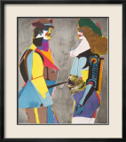 Fun City Kunstdrucke von Richard Lindner