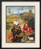 John de Baptist Prints by Hieronymus Bosch