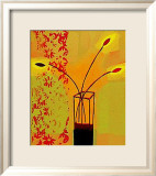 Yellow Glass Vase, 2000 Poster von Russel Baker